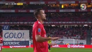 GOLO! SL Benfica, Seferovic aos 11', SL Benfica 1-0 FC P.Ferreira