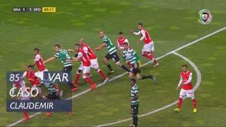 SC Braga, Caso, Claudemir aos 85'