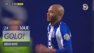 GOLO! FC Porto, Brahimi aos 24', SL Benfica 0-1 FC Porto