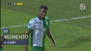 Sporting CP, Jogada, A. Diaby aos 65'