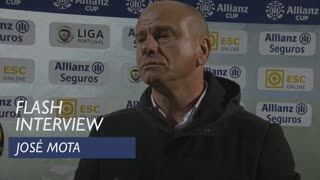 Taça da Liga (Fase de Grupos): Flash interview José Mota