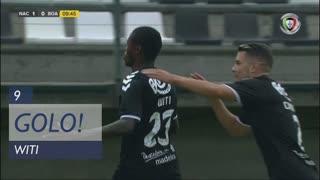 GOLO! CD Nacional,  aos 9', CD Nacional 1-0 Boavista FC