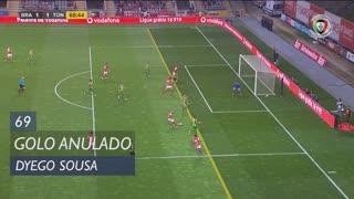 SC Braga, Golo Anulado, Dyego Sousa aos 69'