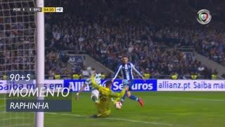 Sporting CP, Jogada, Raphinha aos 90'+5'