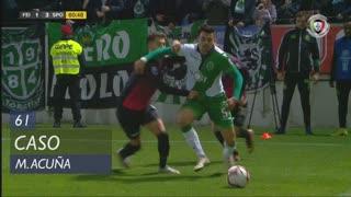 Sporting CP, Caso, M. Acuña aos 61'