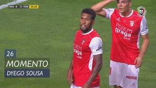 SC Braga, Jogada, Dyego Sousa aos 26'