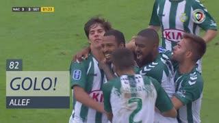 GOLO! Vitória FC, Allef aos 82', CD Nacional 3-3 Vitória FC