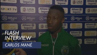 Taça da Liga (Fase de Grupos): Flash interview Carlos Mané