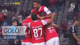 GOLO! SC Braga, Sequeira aos 21', SC Braga 2-0 CD Nacional