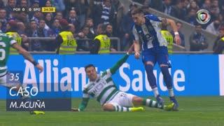Sporting CP, Caso, M. Acuña aos 35'