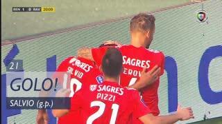GOLO! SL Benfica, Salvio aos 21', SL Benfica 1-0 Rio Ave FC