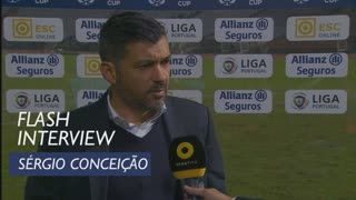 Taça da Liga (Fase de Grupos): Flash interview Sérgio Conceição