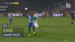 Sporting CP, Caso, André Pinto aos 53'