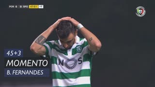 Sporting CP, Jogada, Bruno Fernandes aos 45'+2'