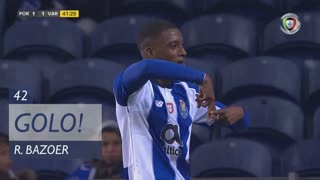 GOLO! FC Porto, R. Bazoer aos 42', FC Porto 1-1 Varzim SC