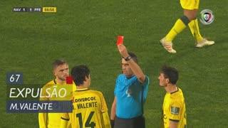 FC P.Ferreira, Expulsão, Marcos Valente aos 67'