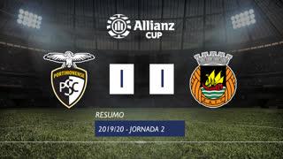 Taça da Liga (Fase 3 - Jornada 2): Resumo Portimonense 1-1 Rio Ave FC