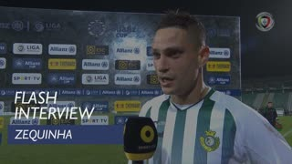Taça da Liga (Fase de Grupos): Flash Interview Zequinha