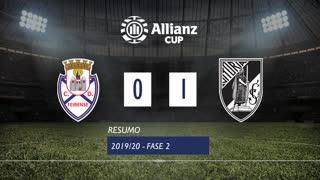Allianz Cup (2ª Fase): Resumo CD Feirense 0-1 Vitória SC