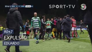 SC Braga, Expulsão, Eduardo aos 90'+7'