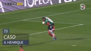 Gil Vicente FC, Caso, Arthur Henrique aos 75'