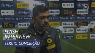 Taça da Liga (Fase de Grupos): Flash Interview Sérgio Conceição