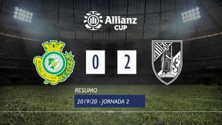 Allianz Cup (Fase 3 - Jornada 2): Resumo Vitória FC 0-2 Vitória SC