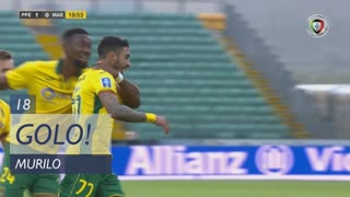 GOLO! FC P.Ferreira, Murilo aos 18', FC P.Ferreira 1-0 Marítimo M.