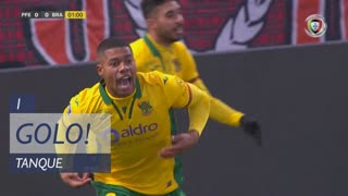 GOLO! FC P.Ferreira, Tanque aos 1', FC P.Ferreira 1-0 SC Braga