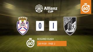 Taça da Liga (2ª Fase): Resumo Flash CD Feirense 0-1 Vitória SC
