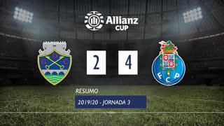 Allianz Cup (Fase 3 - Jornada 3): Resumo GD Chaves 2-4 FC Porto