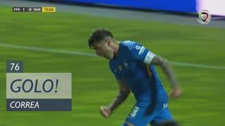 GOLO! Marítimo M., Correa aos 76', FC P.Ferreira 1-1 Marítimo M.