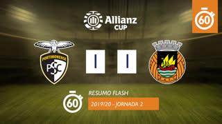 Taça da Liga (Fase 3 - Jornada 2): Resumo Flash Portimonense 1-1 Rio Ave FC