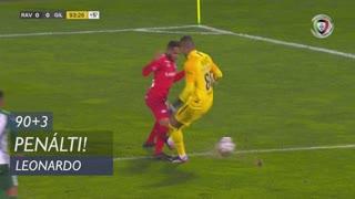 Gil Vicente FC, Penálti, Leonardo aos 90'+3'