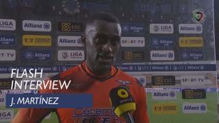 Taça da Liga (Fase de Grupos): Flash Interview Jackson Martínez