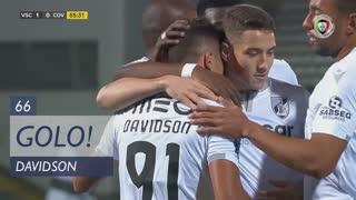 GOLO! Vitória SC, Davidson aos 66', Vitória SC 1-0 SC Covilhã