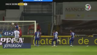 GD Chaves, Penálti, Jefferson aos 45'+2'