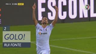 GOLO! SC Braga, Rui Fonte aos 2', FC Penafiel 0-1 SC Braga