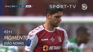 SC Braga, Jogada, João Novais aos 45'+1'
