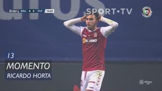 SC Braga, Jogada, Ricardo Horta aos 13'