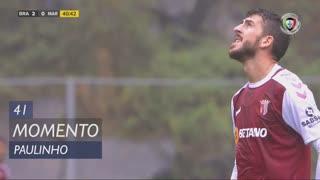 SC Braga, Jogada, Paulinho aos 41'