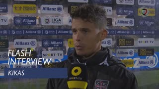 Taça da Liga (Fase de Grupos): Flash Interview Kikas