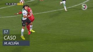 Sporting CP, Caso, M. Acuña aos 57'