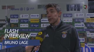 Taça da Liga (Fase de Grupos): Flash Interview Bruno Lage