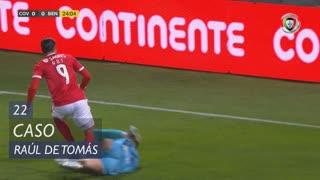 SL Benfica, Caso, Raúl de Tomás aos 22'