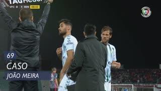 Vitória FC, Caso, João Meira aos 69'