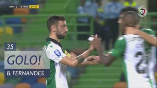 GOLO! Sporting CP, Bruno Fernandes aos 35', Sporting CP 1-1 Rio Ave FC