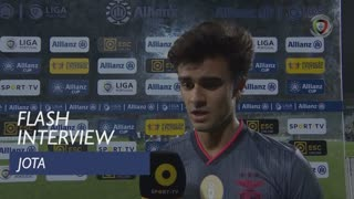 Taça da Liga (Fase de Grupos): Flash Interview Jota
