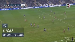 SC Braga, Caso, Ricardo Horta aos 42'
