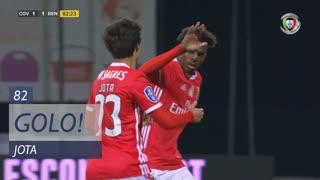 GOLO! SL Benfica, Jota aos 82', SC Covilhã 1-1 SL Benfica